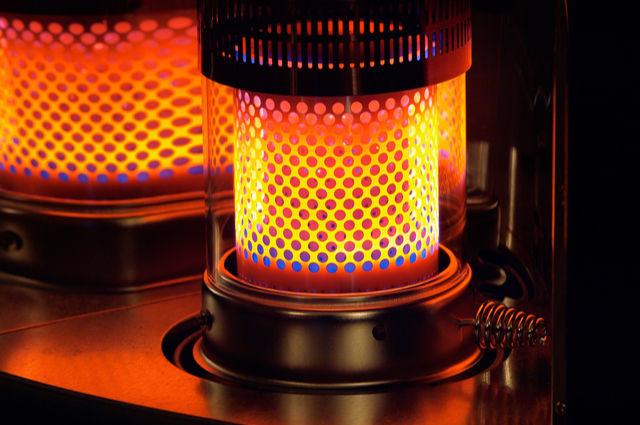 Paraffin heating image by Andreas Poertner (via Shutterstock).